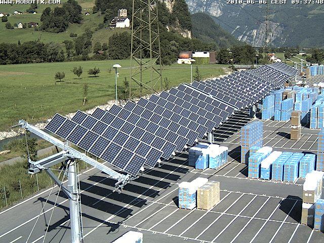 25 h here ausbeute durch neuartige photovoltaik anlage for Hausbau forum